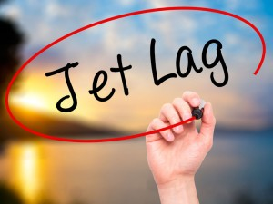 Melatonin production can be impacted by jet lag